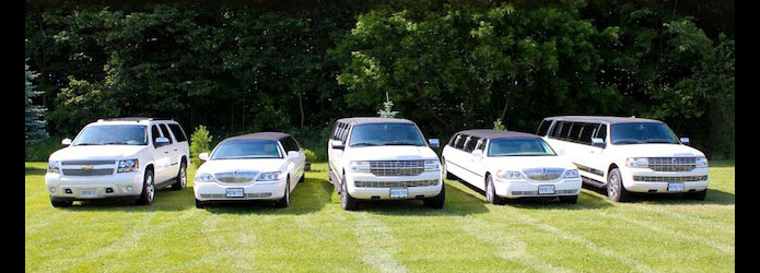 Our Fleet of Limousines and Stretched SUVs