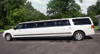 2012 All White Stretched Lincoln Navigator