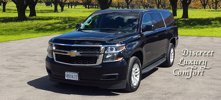 photo of black 2015 chevrolet  suburban