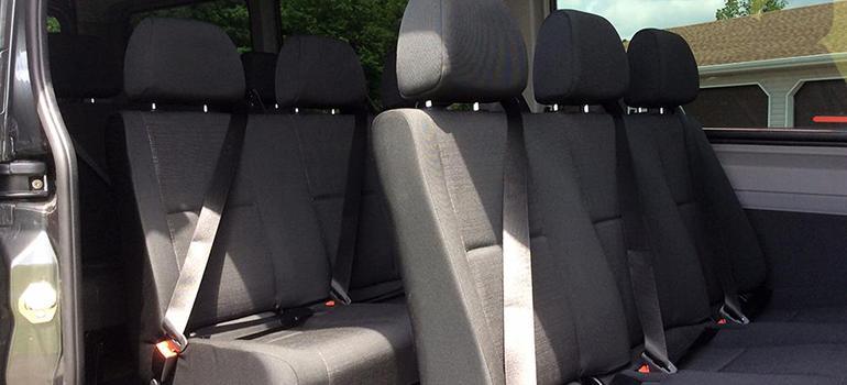 Mercedes Sprinter Slideshow - interior seating