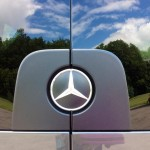 Mercedes Sprinter - rear door emblem