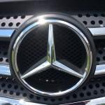 Mercedes Sprinter - front grille emblem