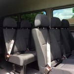 Mercedes Sprinter - interior seating