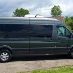 Mercedes Sprinter - passenger side view